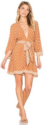 FAITHFULL THE BRAND Nova Dress in Brown $140 thestylecure.com