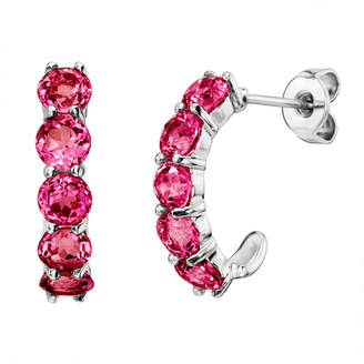 Fine Jewelry Ss Ruby Ear