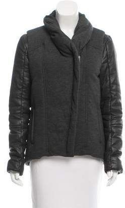 Helmut Lang Wool Combination Jacket