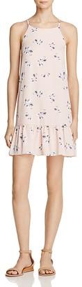 AQUA Floral Flounce Hem Dress - 100% Exclusive $78 thestylecure.com