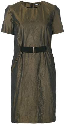 Jil Sander Navy belted dress