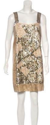 Philosophy di Alberta Ferretti Sequin Mini Dress