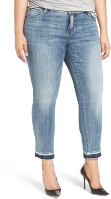 KUT from the Kloth Reese Release Hem Straight Leg Jeans