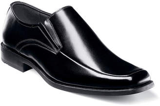 Stacy Adams Cassidy Mens Moc-Toe Slip-On Leather Dress Shoes
