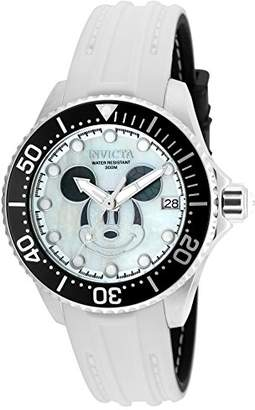 Invicta Women's 'Disney Limited Edition' Automatic Stainless Steel and Silicone Casual Watch