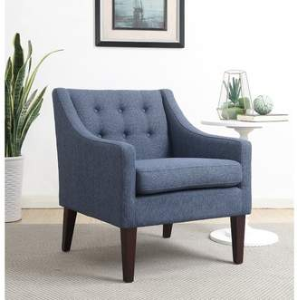 Alcott Hill Aileen Mid Century Tailored Tufted Accent Armchair Upholstery