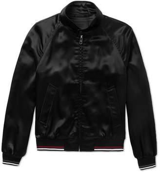 Prada Satin Blouson Jacket