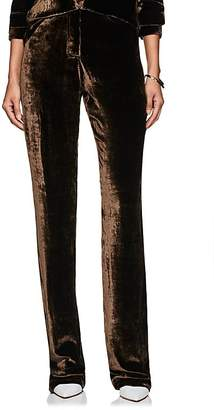 Juan Carlos Obando Women's Velvet Five-Pocket Trousers