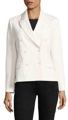 Polo Ralph Lauren Twill Double-Breasted Blazer $398 thestylecure.com