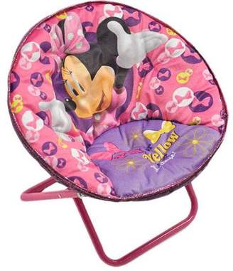 Disney Minnie Mouse Saucer Chair, Available in Multiple Characters