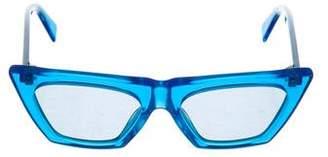 Celine Edge Cat-Eye Sunglasses w/ Tags
