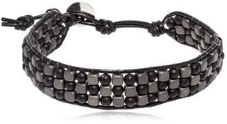 Hematite & Lava Beads Bracelet