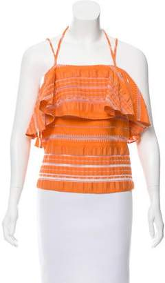 Prabal Gurung Sleeveless Oversize Top