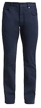 Giorgio Armani Men's Micro-Twill Stretch Chino Pants