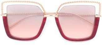 Boucheron Eyewear oversized square frame sunglasses