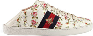 Ace rose print low-top sneaker $560 thestylecure.com