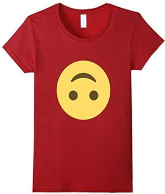 Mr Happy Face Upside Down Emoji T Shirt
