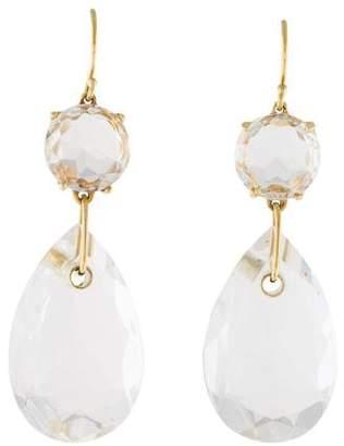 Ippolita 18K Quartz Drop Earrings