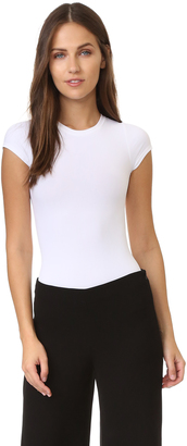 Theory Tace Crew SS Bodysuit $140 thestylecure.com