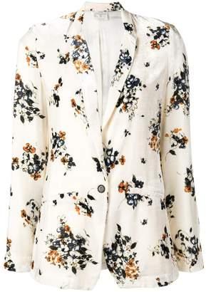Forte Forte floral print blazer