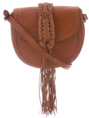 Altuzarra Ghianda Knot Saddle Bag Brown Ghianda Knot Saddle Bag