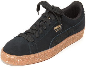 PUMA Suede Careaux Sneakers $80 thestylecure.com