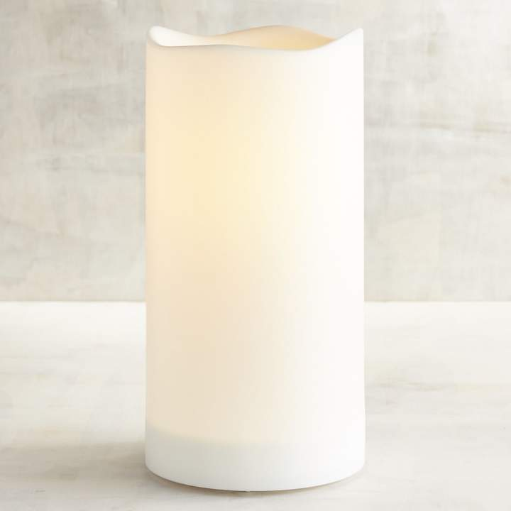 Deco Wick 4x8 Outdoor LED Pillar Candle