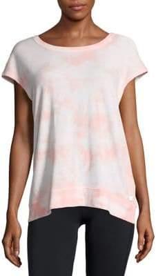 Calvin Klein Tie-Dyed Short-Sleeve Top