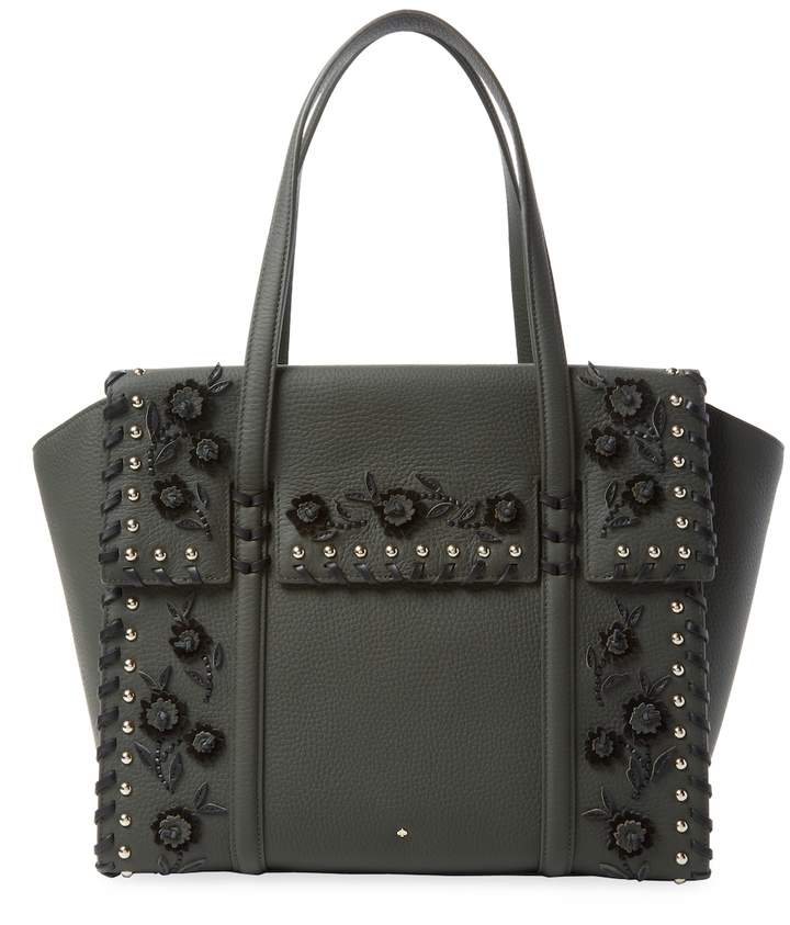Kate Spade New York Women's Abigail Studded Leather Tote Bag