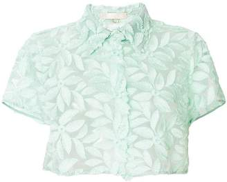 Mantu floral lace blouse