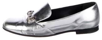 Gucci Lillian Patent Leather Horsebit Loafers