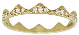 Jade Trau Clara Stacking Band Ring - Yellow Gold