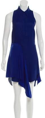 3.1 Phillip Lim Silk-Accented Sleeveless Dress