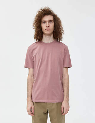 Maison Margiela S/S Garment Dyed Tee in Canyon Rose