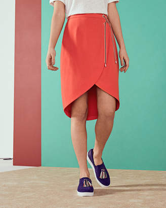 Ted Baker YOOY Crossover front skirt