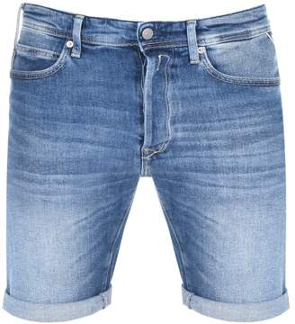 Replay RBJ 901 Denim Shorts Blue
