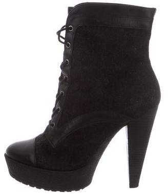 Pour La Victoire Lace-Up Ankle Boots