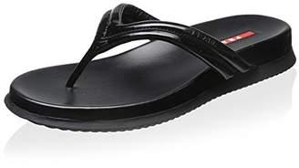 Prada Linea Rossa Women's Flat Sandal