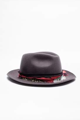 Zadig & Voltaire Zadig Voltaire Alabama Patchwork Hat