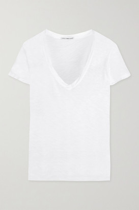 James Perse Casual Slub Cotton T-shirt - White