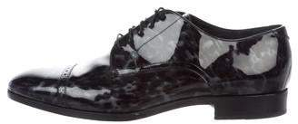 Jimmy Choo Patent Leather Derby Shoes