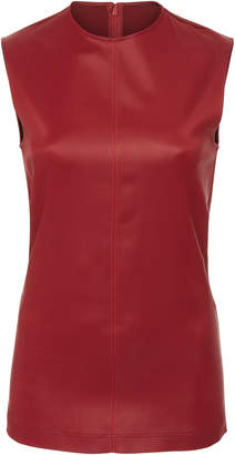 Givenchy Sleeveless Satin Top