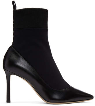 Jimmy Choo Black Brandon 85 Boots