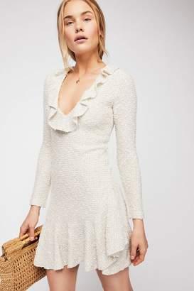 Shona Joy Aimee Frill Collar Bodycon Dress
