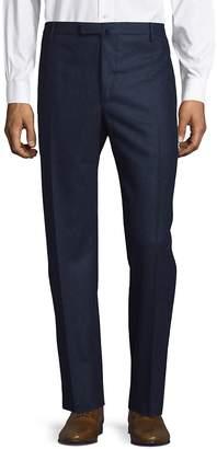 Boglioli Men's Petrol Wool Trousers