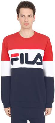 Blend of America Color Block Cotton Sweatshirt