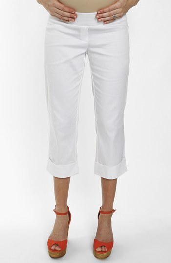Everly Grey 'Carrie' Cropped Maternity Pants