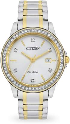 Citizen Crystal Dot Echo-Drive Ladies watch