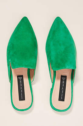 Anthropologie Steve Madden Valent Slides