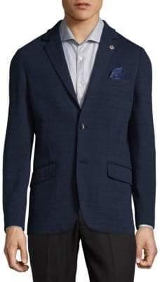Ben Sherman Tonal Plaid Jacket